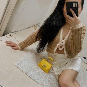 Champagne Mini Skirt